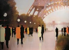 """Paris Remembered"" by Lorraine Christie"