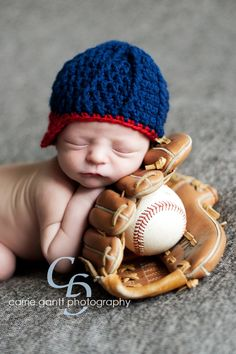 newborn baseball photography | Newborn Photographer , Marietta Newborn Photography , Smyrna Newborn ...