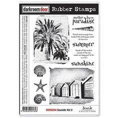 Darkroom Door Rubber Stamp Set - Seaside Vol 2