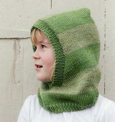 Hooded neck warmer for kids