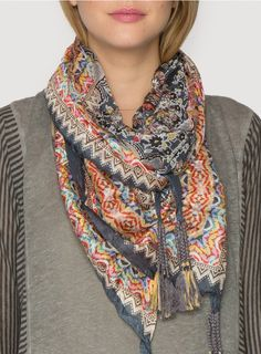 Chaney Scarf from Johnny Was - #CowgirlChic