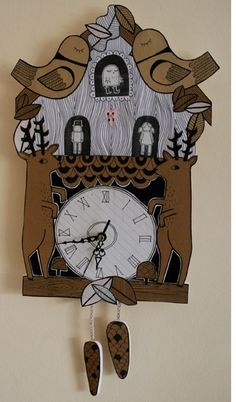 Cuckoo Clock by katesutton on Etsy