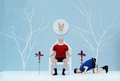 Las escenografías fotografiadasporla artista turca Yonca Karakas…