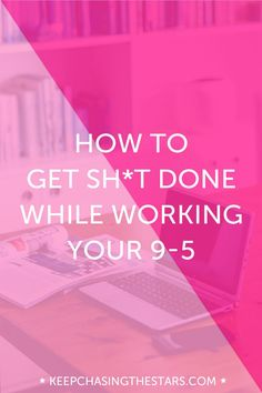 It's completely possible to achieve your goals and get sh*t done while working a full-time job. You just have to put a plan into place to make it happen. This guide walks you step-by-step through what you need to have worked out in order to effectively accomplish your goals even if you have a limited amount of time to complete them. Click through to read the post.