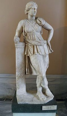 Statue of Artemis, from Mytilene, Lesbos, Roman copy of a 4th century BC type, Istanbul Archaeology Museum