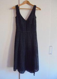 Kup mój przedmiot na #vintedpl http://www.vinted.pl/damska-odziez/dlugie-sukienki/9977659-sukienka-czarna-azurowa-z-podszewka