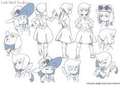 Little Witch Academia sequel! The Enchanted Parade (Here's new character Constanze Braunschbank Albrechtsberger)