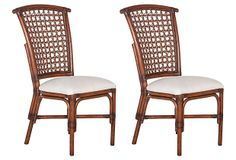 One Kings Lane - The Starter Space - Natural Lilly Dining Chair, Pair