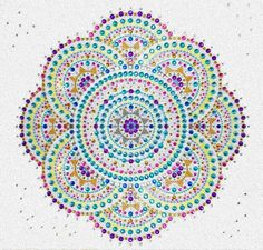 somethign very beautiful about this to me, today. the shininess, the orderliness, the circles. Mandala Design, Mandala Art, Name Origins, Images Of Colours, Circle Art, Doodle Art, Zentangle, Dot Painting, Outdoor Blanket