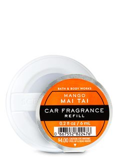 Shop Mango Mai Tai Car Fragrance Refill at Bath And Body Works! Fill your home with the most irresistible, beautiful fragrance today. Best Home Fragrance, Home Fragrances, Leaf Car, Car Perfume, Car Freshener, Mai Tai, Fall Scents, Smell Good, Bath And Body Works