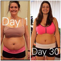 This is kadee! And this is her before and after 30 day transformation photos! If you want results like this or just want to lose weight and have energy me then msg me!