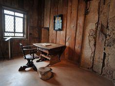 Die Lutherstube in den Räumlichkeiten der Wartburg. Foto: Alexander Volkmann