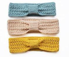 loveeee crocheted head bands