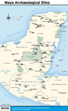 Maps - Maya Archaeological Sites