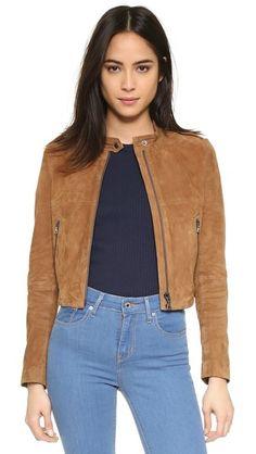 Theory Benna Suede Jacket