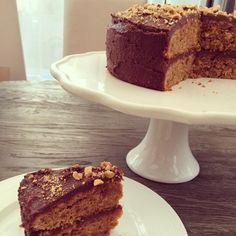 WEEK 2: My #glutenfree #refinedsugarfree hazelnut and chocolate cake #GFMBO @4GlutenFreeFood - Glutarama
