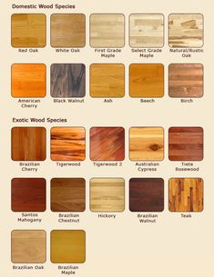 Home Decor Beautiful And Elegant Types Of Flooring Material With The Best Quality American Cherry Black Walnut Brazilian Also Tigerwood