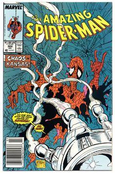Amazing Spider-Man 302 (NM-)