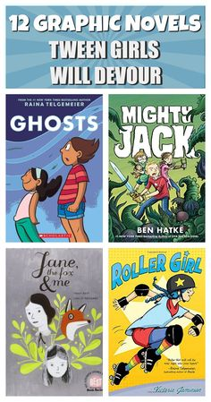 12 outstanding graphic novels for tweens from authors ranging from best-selling Raina Telgemeier to amazing but lesser-known Rod Espinosa 12 outstand… – Preteen Middle School Books, Middle School Libraries, Elementary Library, Class Library, Upper Elementary, Library Lessons, Library Books, Library Ideas, Reading Library