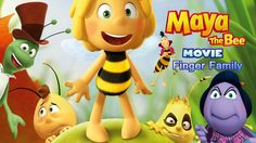 Bee Maya Finger Family Nursery Rhymes Song For Children