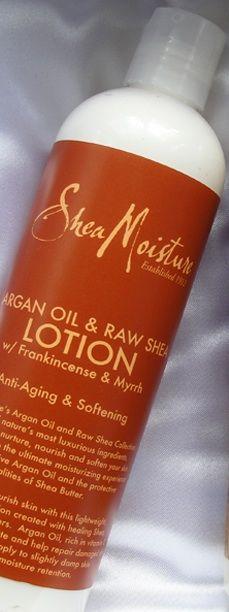 Argan Oil & Raw Shea Lotion w/ Frankincense & Myrrh - Shea Moisture