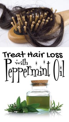 Treat Hair Loss with Peppermint Oil