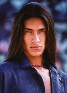 Rick Mora, Native male model