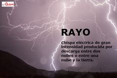 Spanish Word of the Day / Palabra del día: Rayo http://s.donquijote.org/rayo #LearnSpanish