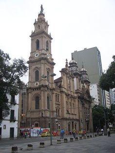Igreja Nossa Senhora do Monte do Carmo - Antiga Se - Rio de Janeiro