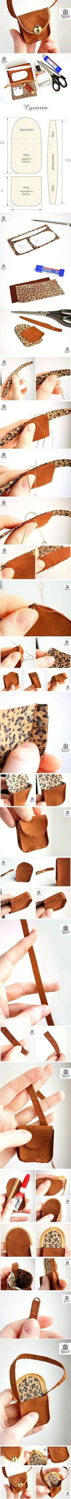 DIY Bolsa para Proyectos Doll bricolaje | UsefulDIY.com: