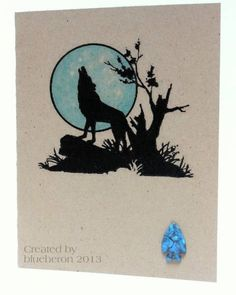 Southwestern Coyote by blueheron 2013 Inspiration here ✿⊱╮ #Cricut