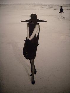 Gisella shot by Albert Watson. Paris, 1990.