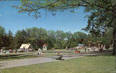 Storybook Gardens Of Springbank Park London, ON Canada  c 1973  cardcow.com