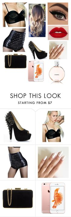 """look soirée rock"" by emmasargero on Polyvore featuring Current Mood, MICHAEL Michael Kors et Chanel"