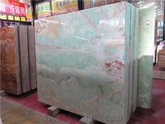 China Green Onyx Slabs & Tiles,Onyx Wall Covering,Green Onyx Floor Covering