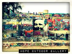 The street art here is always changing and evolving. Hope Outdoor Gallery Austin, Texas, United States