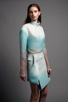 Dion Lee's International Woolmark Prize Collection - from Pedestrian TV