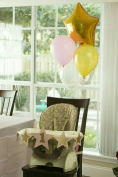 Baby highchair decor #mylondonweddingplanner