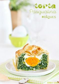 La reine des tartes Genovese ! La Torta Pasqualina, servie traditionnellement pour Pâques en Italie.