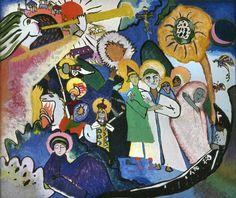 All Saints (I) Wassily Kandinsky  1911