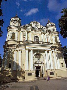 Vilna - La iglesia de San Pedro y San Pablo