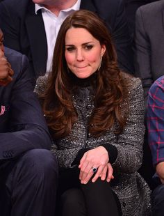 Catherine, Duchess of Cambridge attends the Cleveland Cavaliers vs. Brooklyn Nets game at Barclays Center on December 8, 2014 in the Brooklyn borough of New York City.