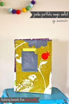 Jumbo portfolio magic wallet...