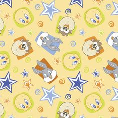 Shop fabric of your favorite TV show and movie characters at JOANN. Find fabric from Disney, Frozen, Minions, Walking Dead, Avengers superheros and more! Wallpaper Size, Kawaii Wallpaper, Pattern Wallpaper, Fabric Crafts, Sewing Crafts, Baby Looney Tunes, Baby Bug, Online Craft Store, Joann Fabrics