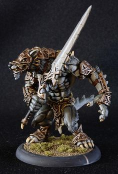 How to paint Circle Orboros armor?