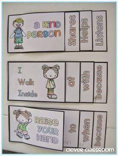 Social Skills Mini Flippy Books by Clever Classroom Classroom Behavior, Autism Classroom, Classroom Management, Behaviour Management, Classroom Ideas, Classroom Displays, Classroom Resources, Social Emotional Development, Social Emotional Learning