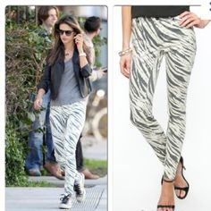 HOST PICK Sass & bide zebra print jeans SZ 27 NWT REDUCED! ⬇️ Sass & Bide zebra print skinny jeans with zipper detail in back bottom leg. Brand new with tag! Never worn and in perfect condition. SIZE 27. sass & bide Jeans