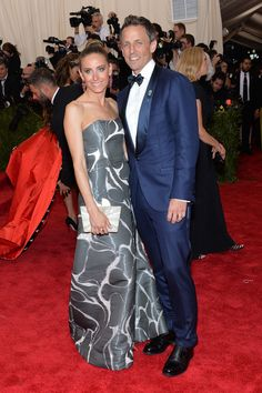 Alexi Ashe and Seth_Meyers 2015 MET GALA