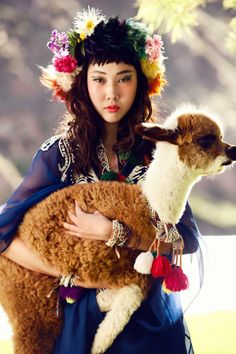 Fashion in the colors & mood of Peru ~ Vogue Korea's July Issue. photo by Alexander Neumann. #kiwibemine #pinittowinit