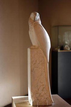 Sculpture d'oiseau par François Pompon (1855-1933), Musée des Beaux-Arts de Dijon.